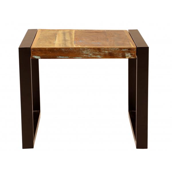 indickynabytok.sk - Konferenčný stolík Retro 60x45x60 recyklované mango Old spice