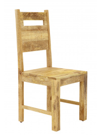Stolička Manu z mangového dreva