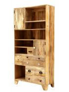 Knižnica Manu z mangového dreva