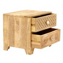 Nočný stolík Manu z mangového dreva
