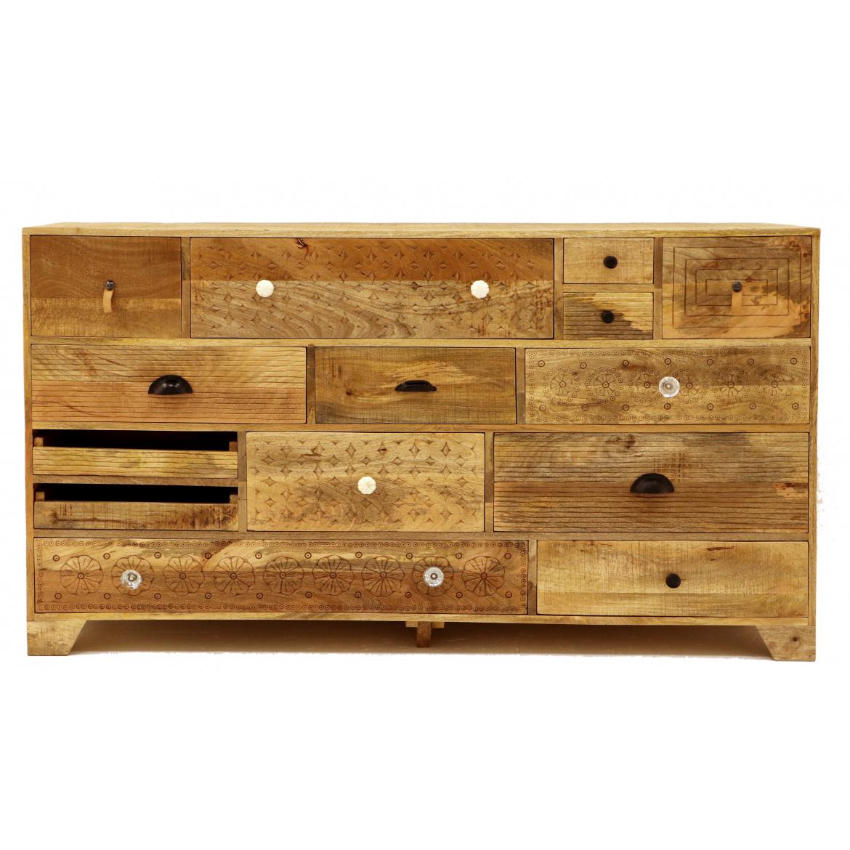 Komoda Manu 160x90x45 z mangového dreva
