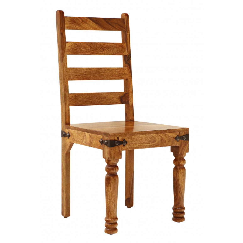 Stolička Jali z masívu palisander