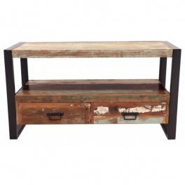 TV stolík z recyklovaného mangového dreva