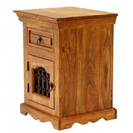 Nočný stolík Jali z indického masívu palisander