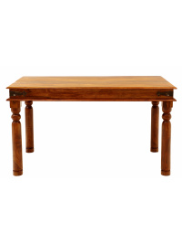 Jedálenský stôl Jali 120x90 z indického masívu palisander