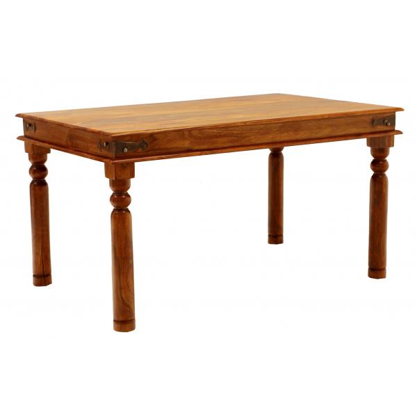 Jedálenský stôl Jali 140x90 z indického masívu palisander