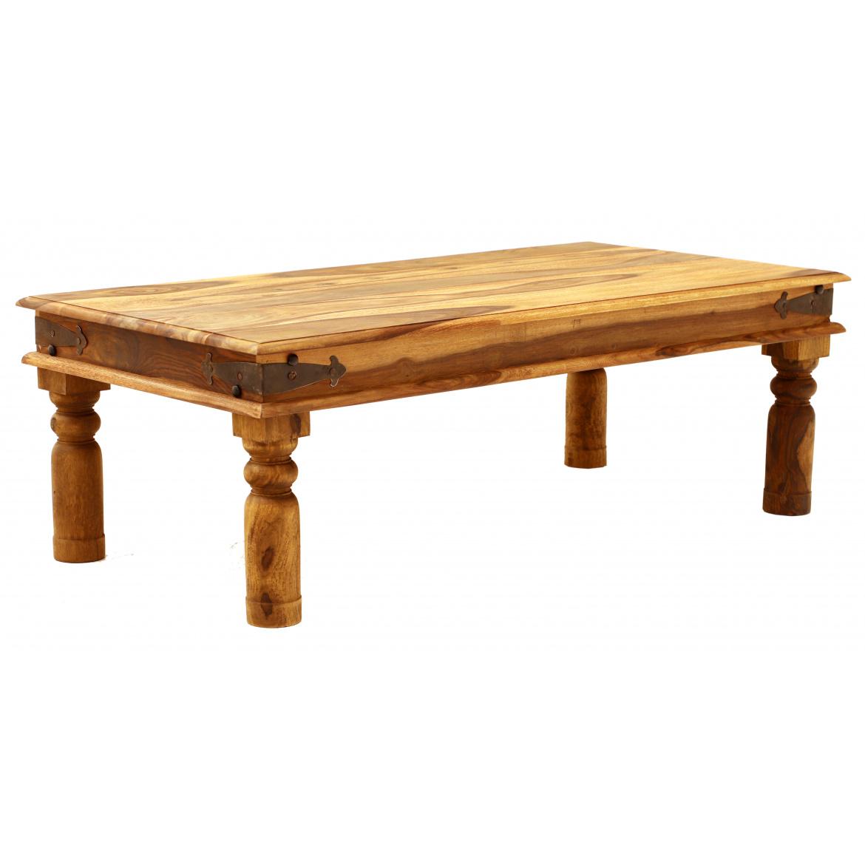 Konferenčný stolík Jali z indického masívu palisander