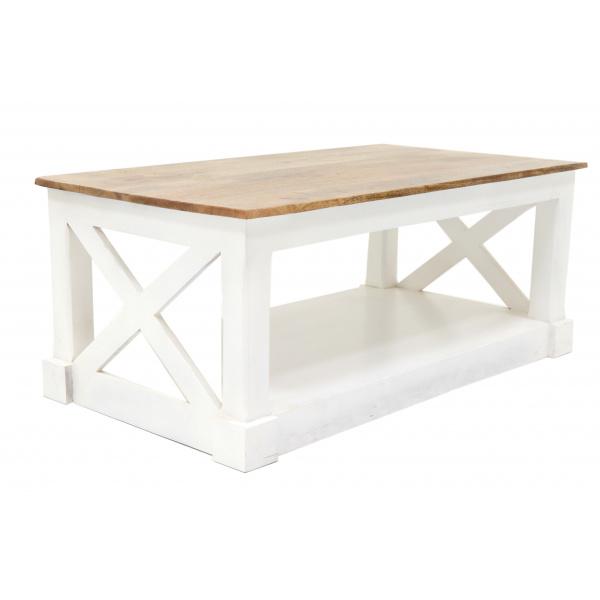 indickynabytok.sk - Konferenčný stolík Retro 110x45x60 indický masív mango