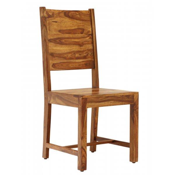 Stolička z indického masívu palisander