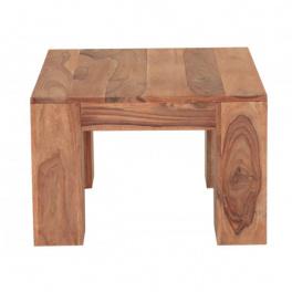 Konferenčný stolík 60x60x40 z indického masívu palisander