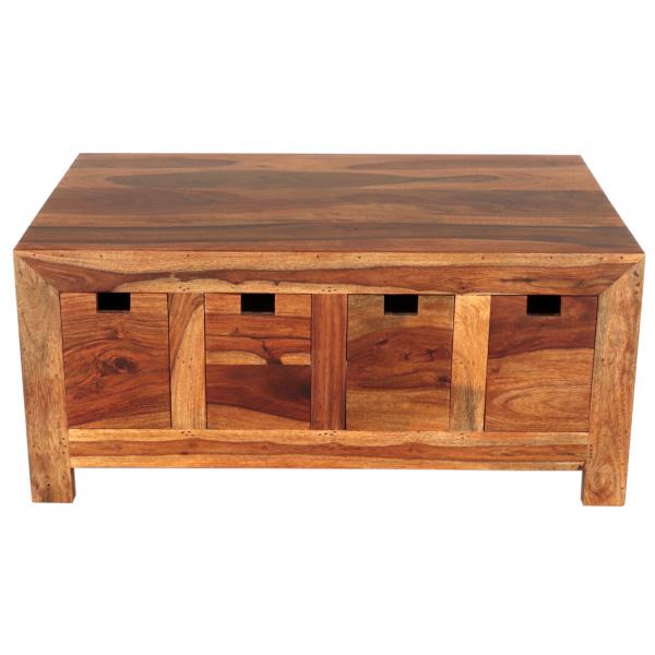indickynabytok.sk - Konferenčný stolík 90x40x60 indický masív palisander Natural