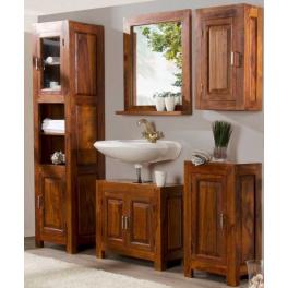 Kúpeľňový set Indický masív palisander