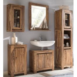 Kúpeľňový set Gani z indického masívu palisander