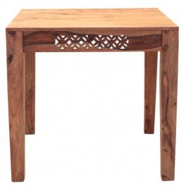 Jedálenský stôl Mira 80x80 indický masív palisander