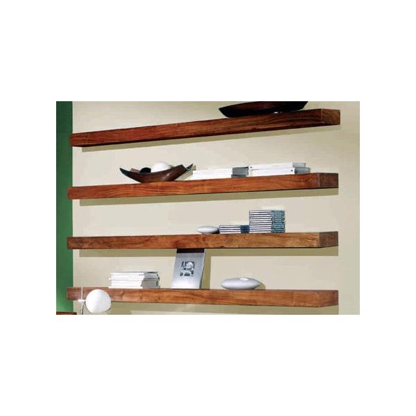 Police na stenu 50x22 z indického masívu palisander