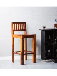 Barová stolička z indického masívu palisander