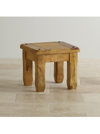 Odkladací stolík Devi z mangového dreva