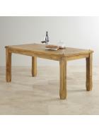 Jedálenský stôl Devi 120x90 z mangového dreva