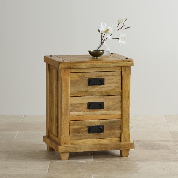 Nočný stolík Devi z mangového dreva