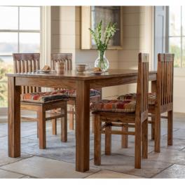 Jedálenský stôl Rami 120x90 z indického masívu palisander