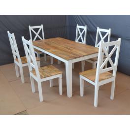 Stolička z mangového dreva