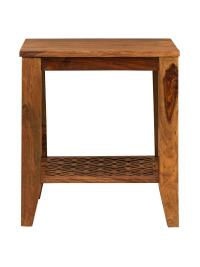 Odkladací stolík Mira z indického masívu palisander