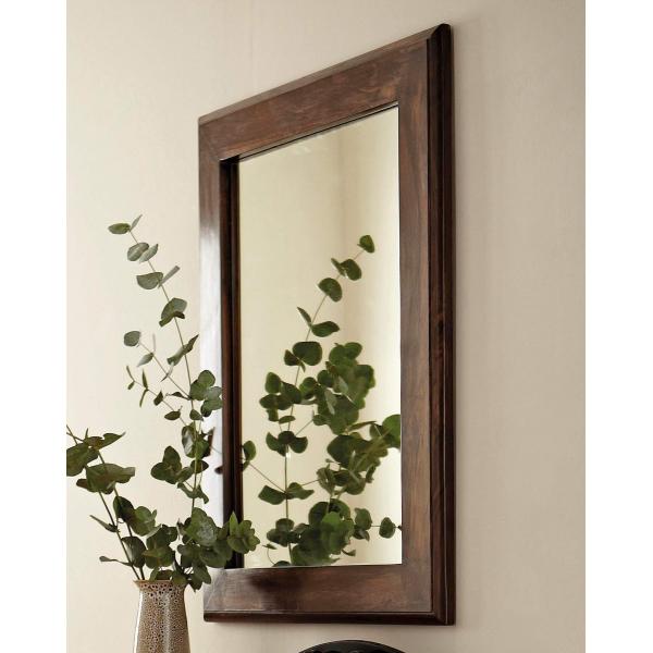 Zrkadlo Tara 60x90 z indického masívu palisander