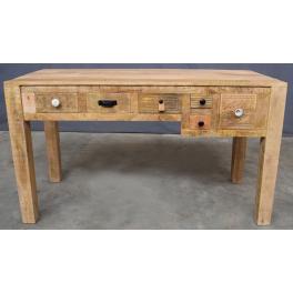 Písací stôl Manu z mangového dreva
