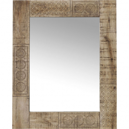 Zrkadlo Manu 90x60 z mangového dreva
