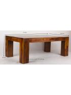 Konferenčný stolík Mumba 110x60x40 z indického masívu palisander