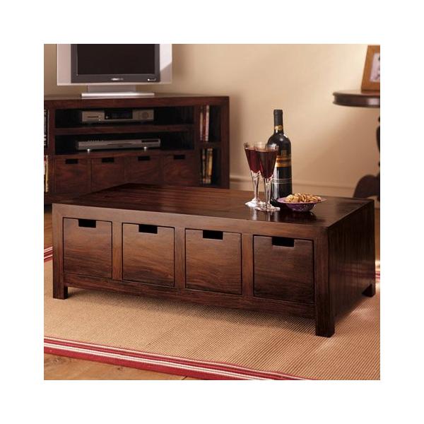 Konferenčný stolík 90x55x30 z indického masívu palisander