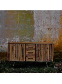 Komoda Rustik z akáciového dreva