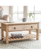 Konferenčný stolík Sita z mangového dreva