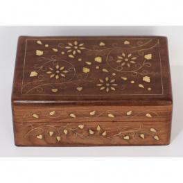 Šperkovnica 15 x 5,5 x 10cm z indického masívu palisander