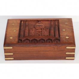 Šperkovnica 15x5,5x10 z indického masívu palisander