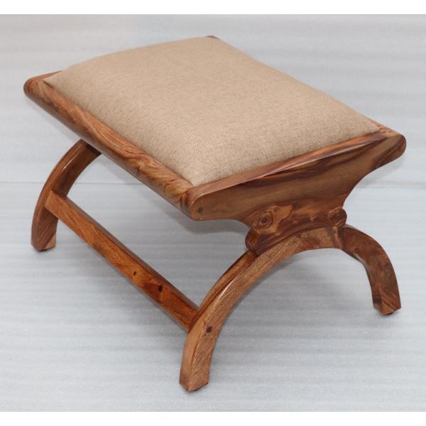 indickynabytok.sk - Polstrovaný taburet 60x45x35 z masívu palisander Only stain